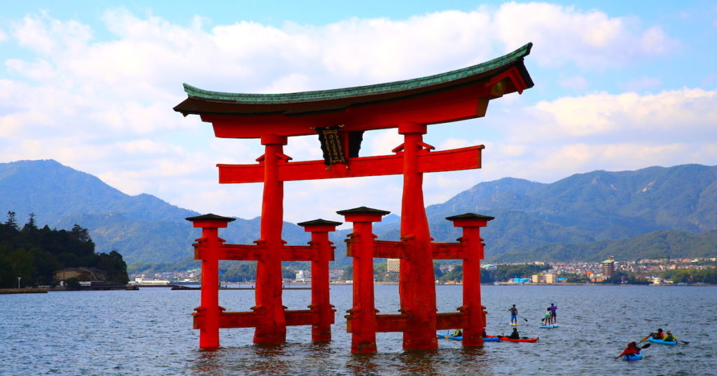 日本6座鳥居絕景!令人驚奇的鳥居所在地