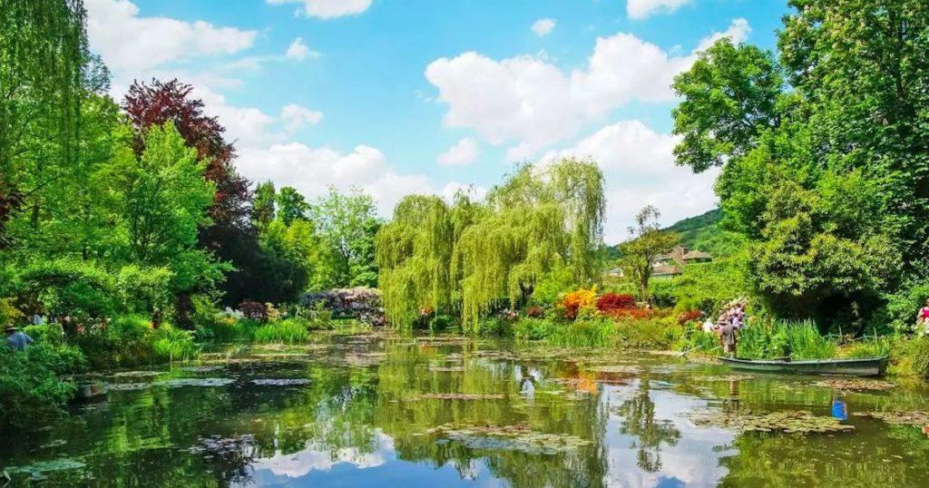 巴黎近郊一日遊|印象派大師故居吉維尼莫內花園