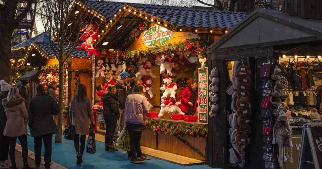 歐洲必去夢幻聖誕市集|華麗的維也納聖誕市集
