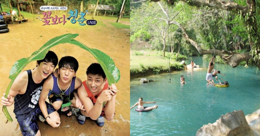 屬於青春的旅行!在大自然漂流慢遊的寮國萬榮