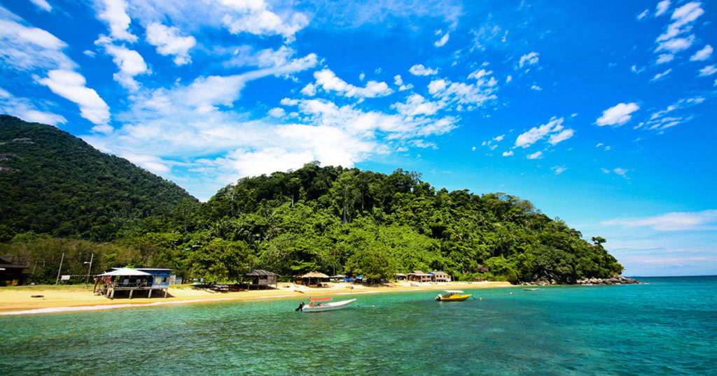 征服東南亞仙境ー馬來西亞刁曼島