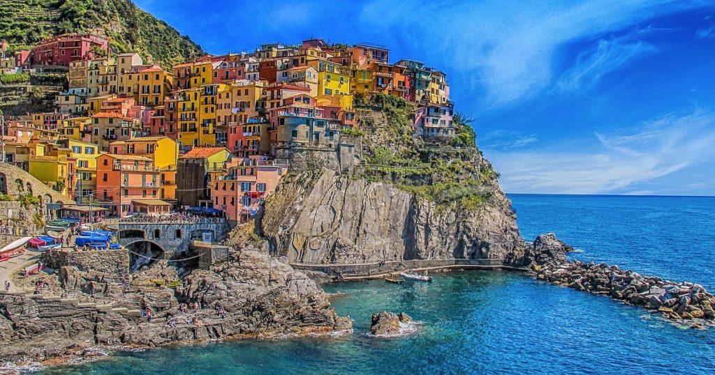 拾回童心的海邊城堡——義大利五漁村