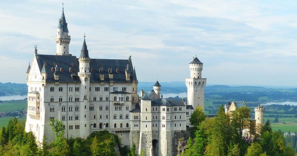 最夢幻的迪士尼城堡・德國新天鵝堡