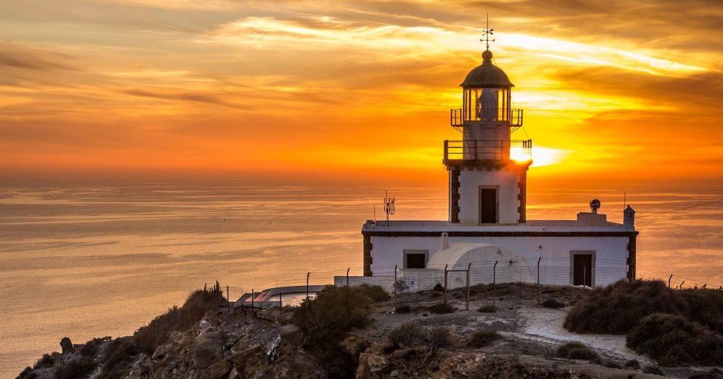 希臘 聖托里尼 欣賞世界上最美的夕陽