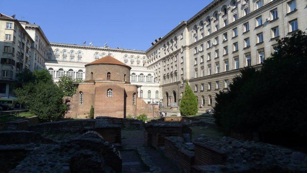 古羅馬遺蹟中的聖喬治教堂(The Rotunda St. George – Sofia)