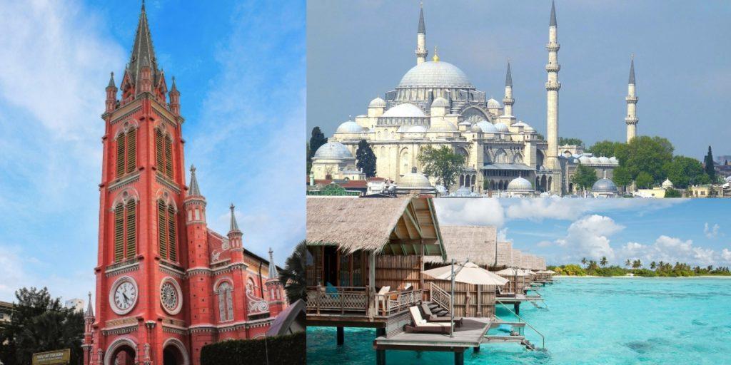讓旅行充滿彩色回憶!推薦你這些景點必去必遊