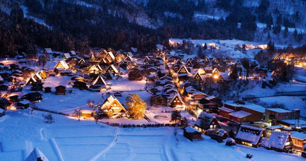 2020日本合掌村冬季限定點燈!高速巴士交通攻略
