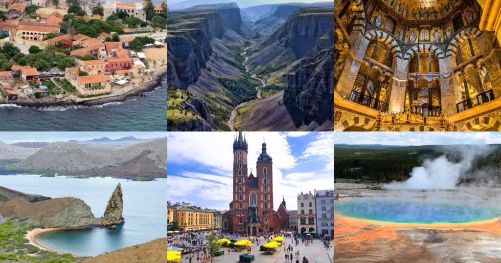 世界遺產朝聖之旅!首次公佈的12個世界遺產地點