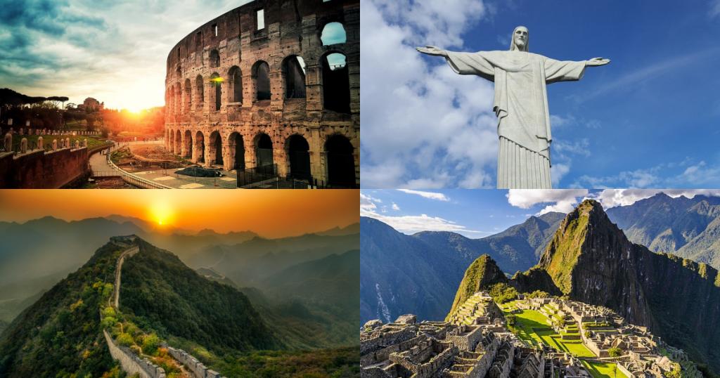 放眼世界・暢遊全球新七大奇蹟,看看你都去過了嗎?