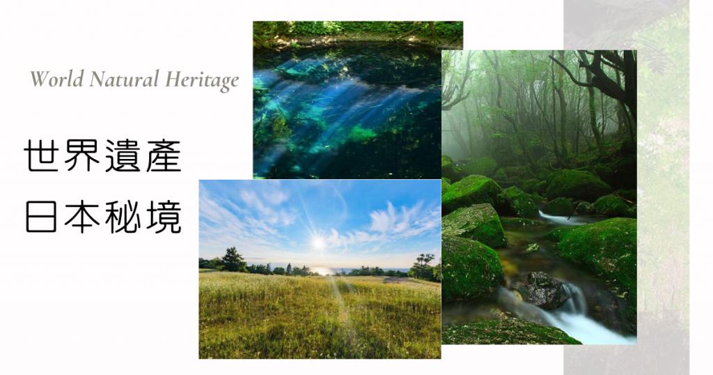 日本絕美秘境・4個世界自然遺產景點