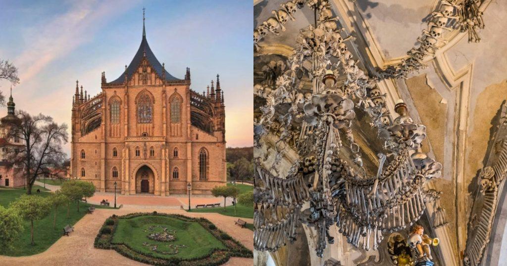 【Triplisher玩樂報】遊客惡搞骷髏頭!捷克知名景點「人骨教堂」2020年禁止拍照