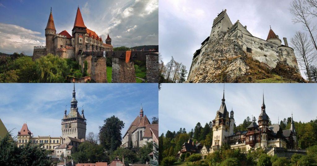 羅馬尼亞文化巡禮 精選城堡大集合