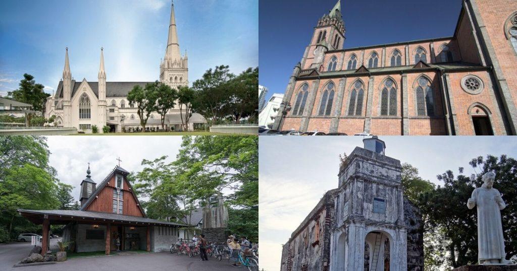 不用去歐洲!盤點亞洲國家的特色教堂