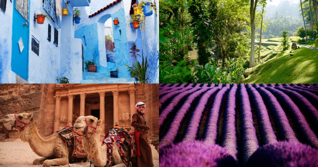 超夯彩通年度代表色景點整理|從經典藍到寧靜粉藍的色彩之旅